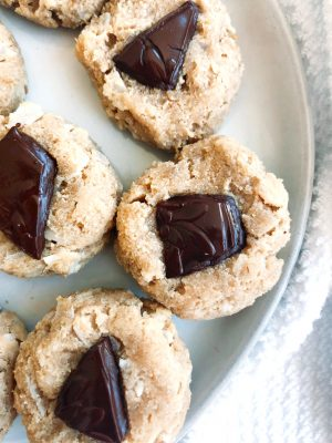Dark Chocolate Macadamia Nut Cookies (GF)