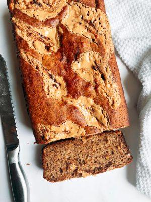 Honey PB Banana Bread