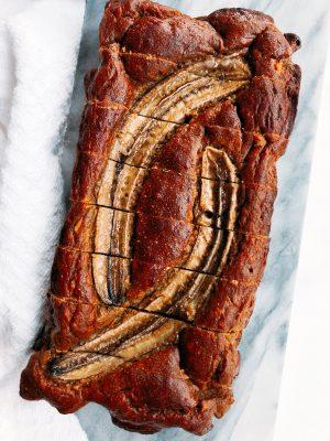 Low-fat Gluten-Free Banana Bread