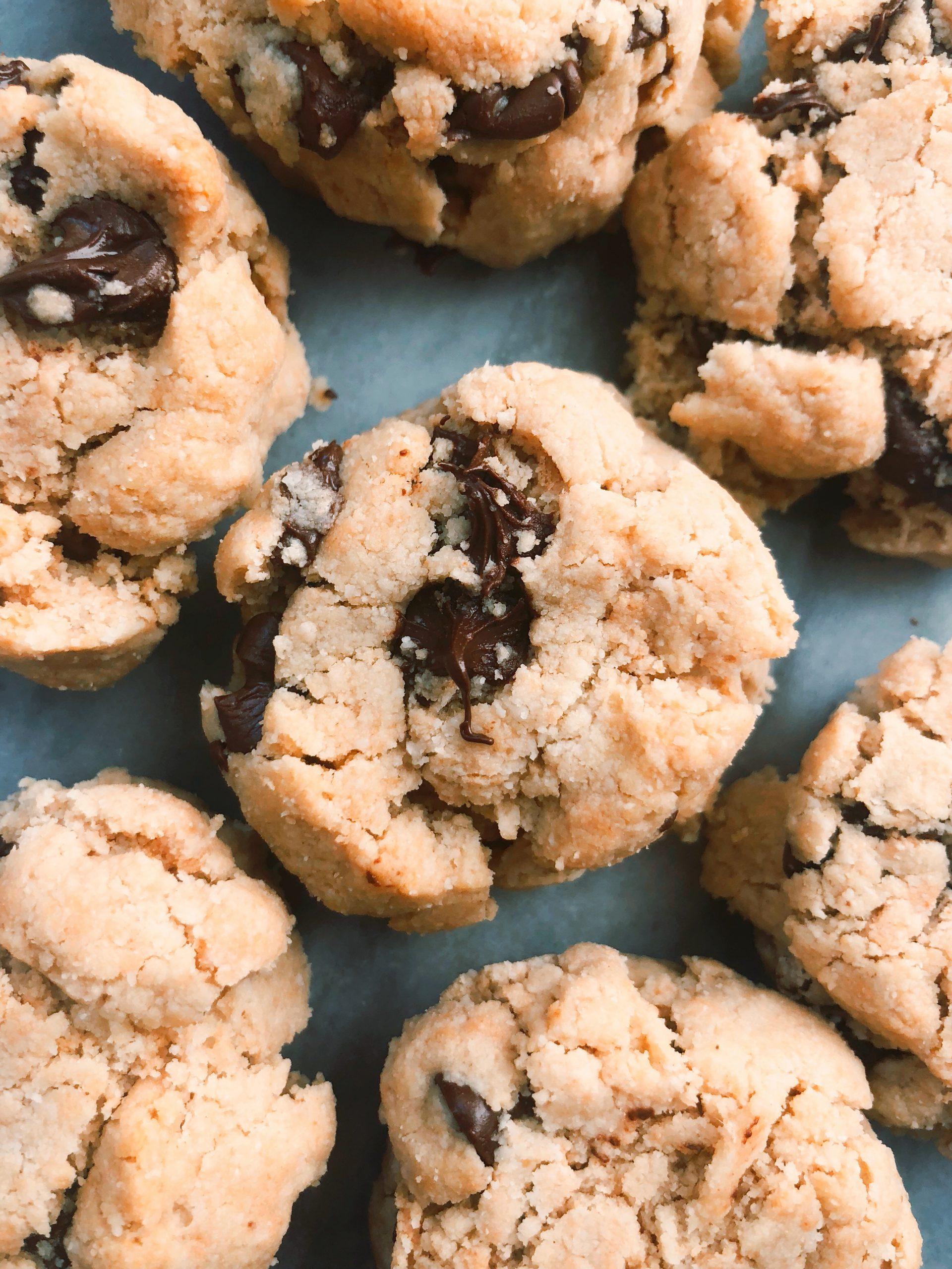 Best D*mn Vegan Chocolate Chip Cookies