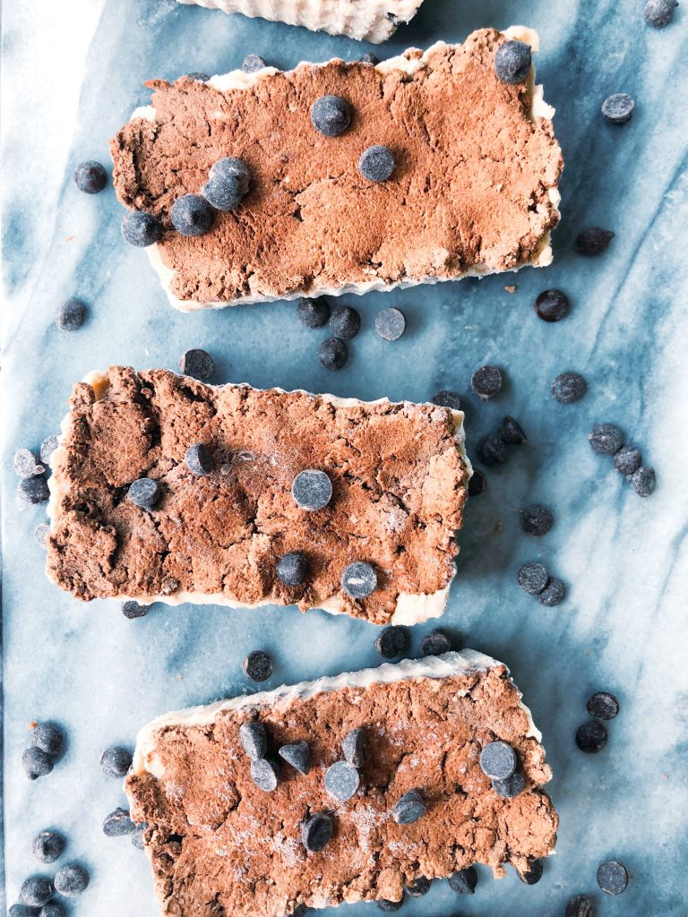 No-Bake Cookie Dough Brownie Bars