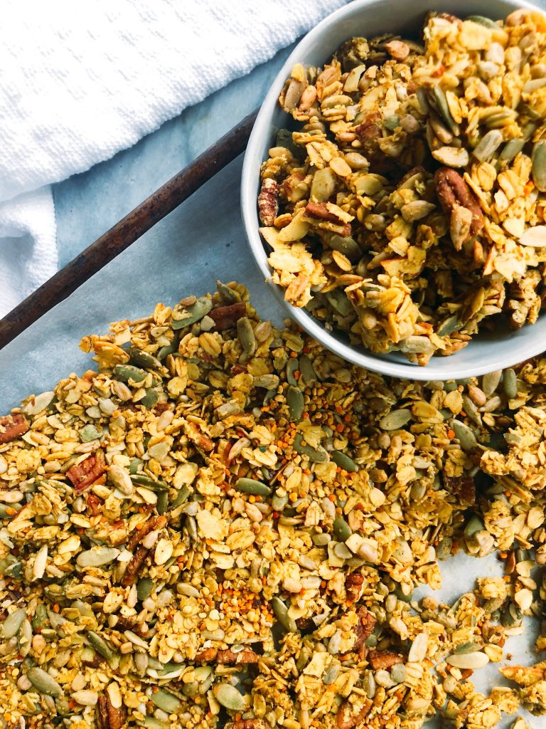 Turmeric Trail Mix Granola