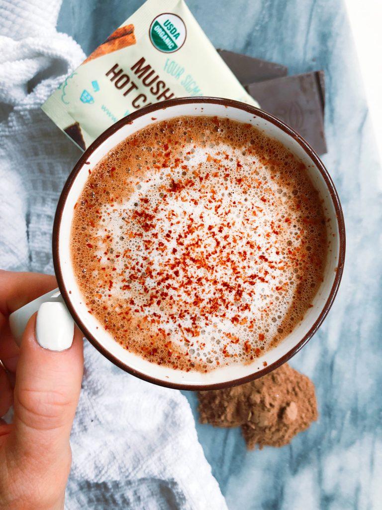 Sugar-Free Mint Hot Chocolate