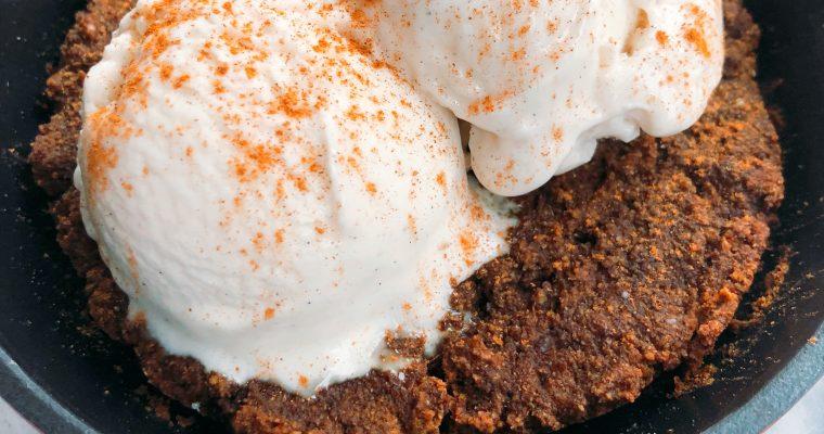 Molasses Skillet Cookie