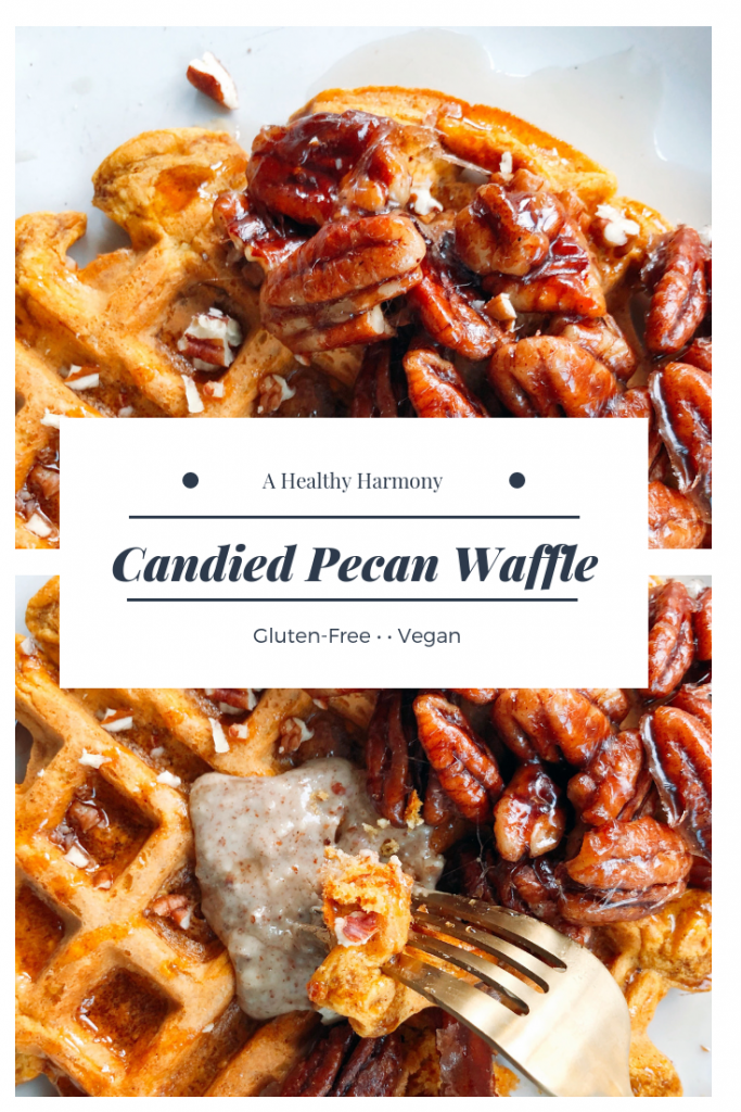 Candied Pecan Waffle