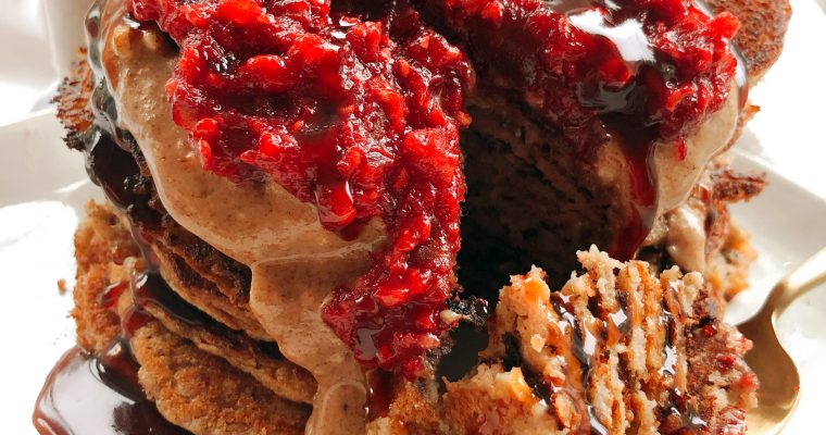 Simple Vegan Pancakes