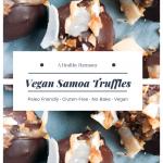 Vegan Samoa Truffles