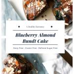 Blueberry Almond Bundt Cake