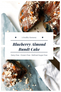 Blueberry Almond Bundt Cake