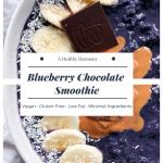 Blueberry Chocolate Smoothie
