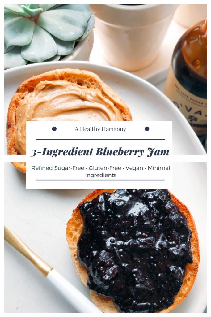 3-Ingredient Blueberry Jam