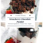 Strawberry Chocolate Parfait