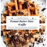 Peanut Butter Date Waffle