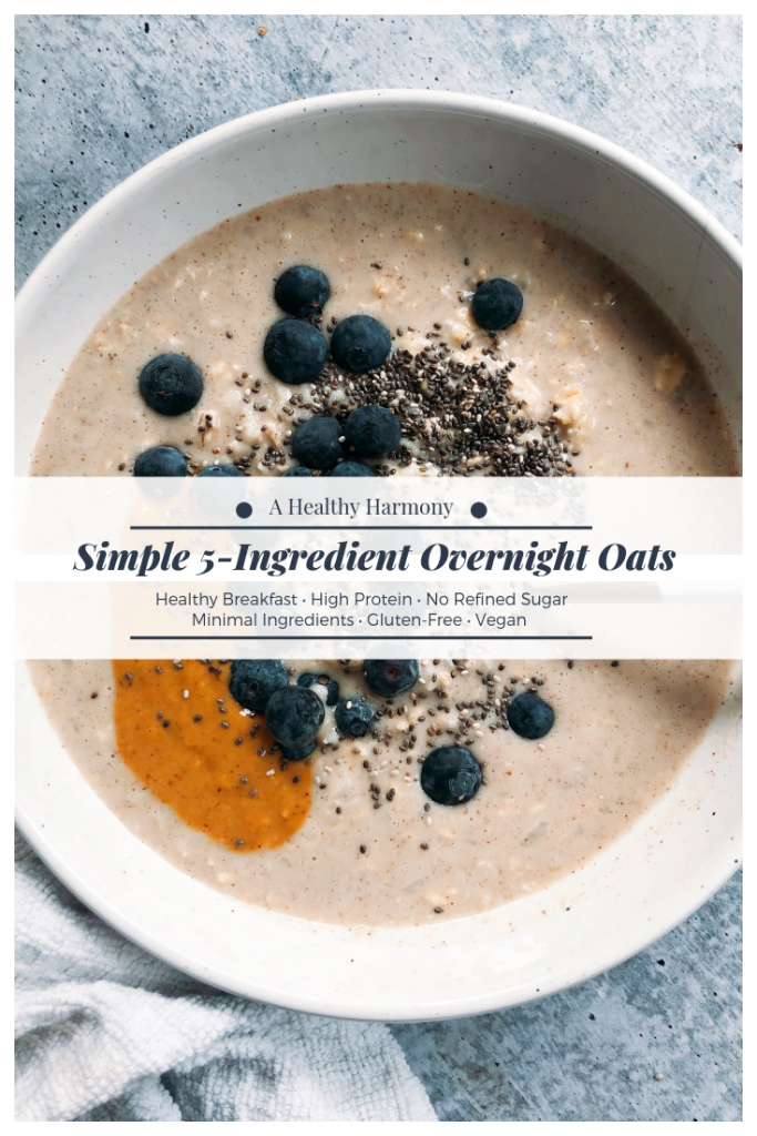 Simple 5-Ingredient Overnight Oats