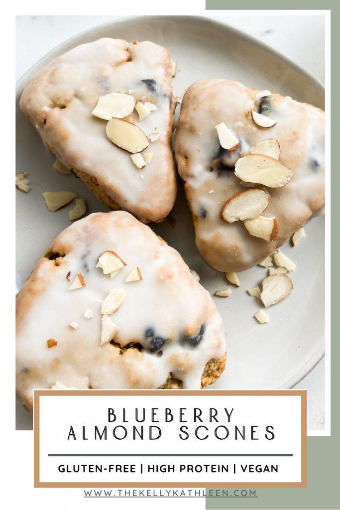 blueberry almond scones pin