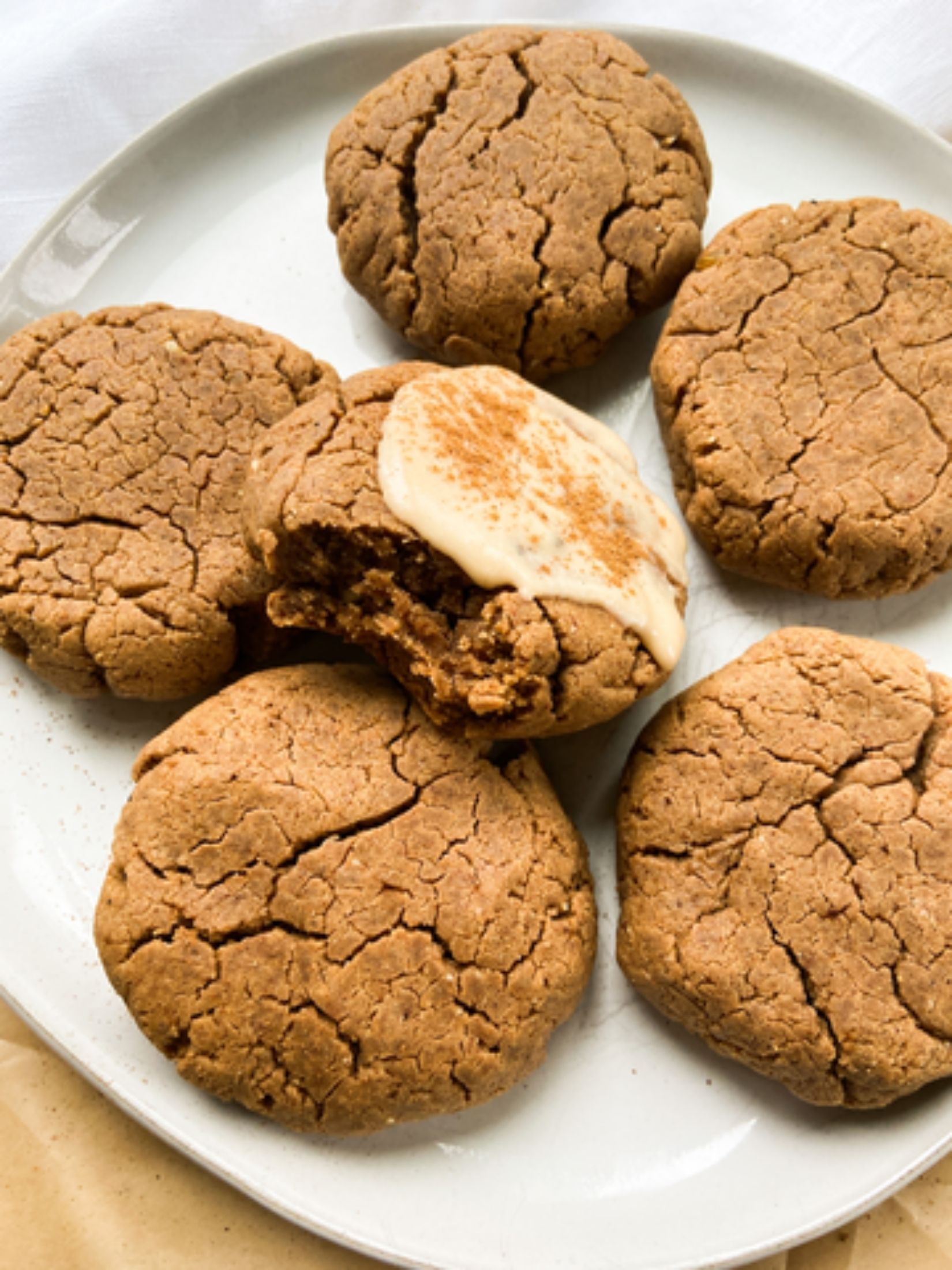 Chai Spiced Flourless Cookies Feature