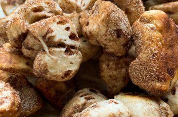Cinnamon Roll Churro Bites