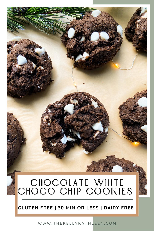 White Chocolate Chip Chocolate Cookies