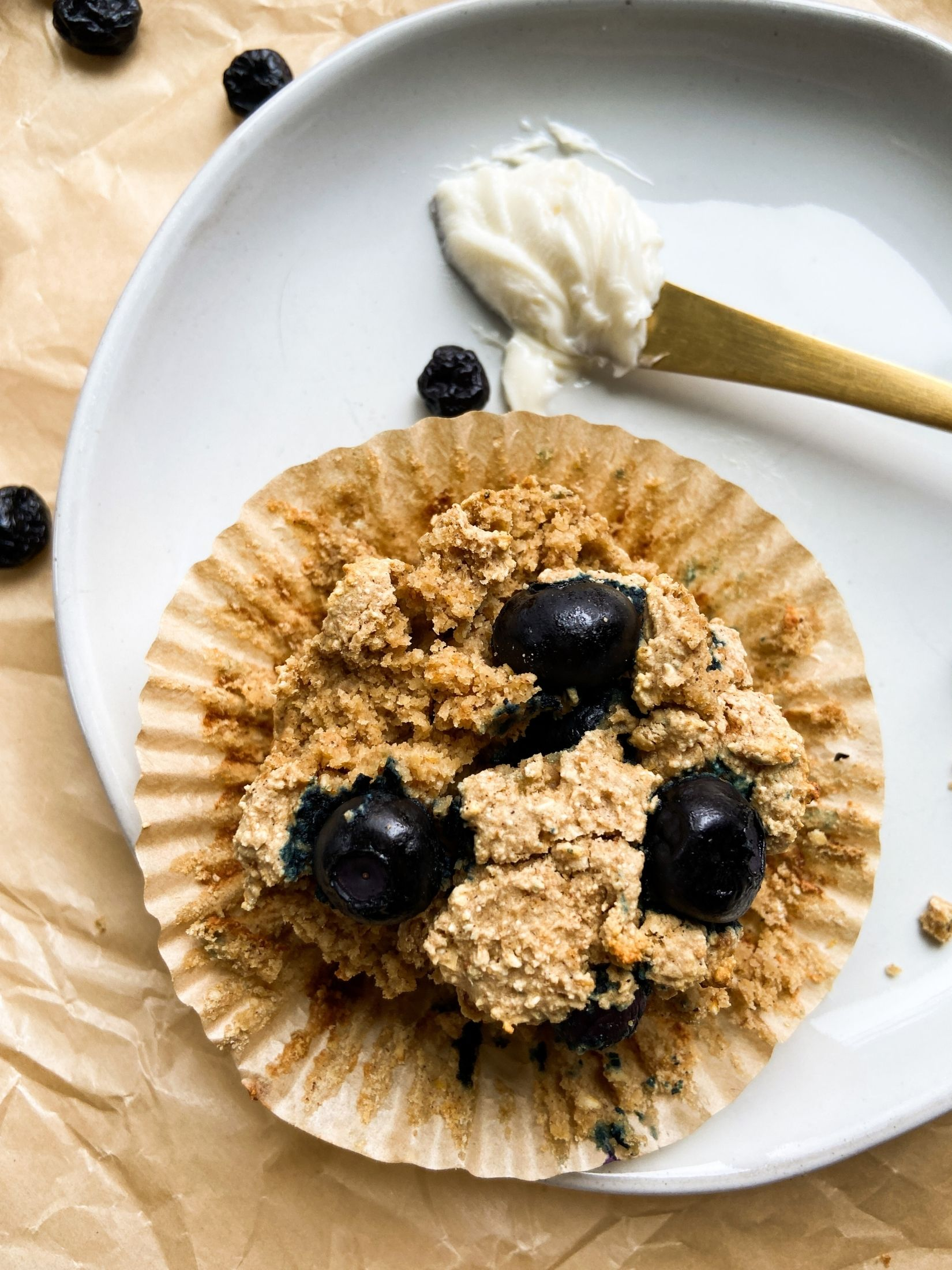 Single Serve Blueberry Muffin Feature