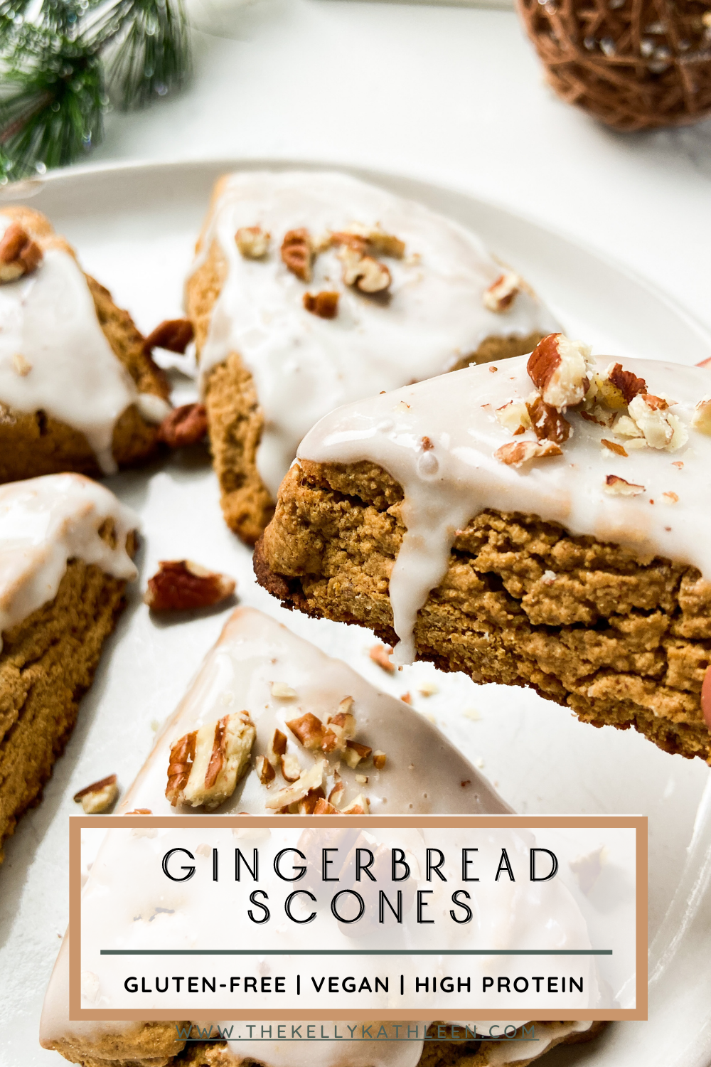 Gingerbread Maple Scones