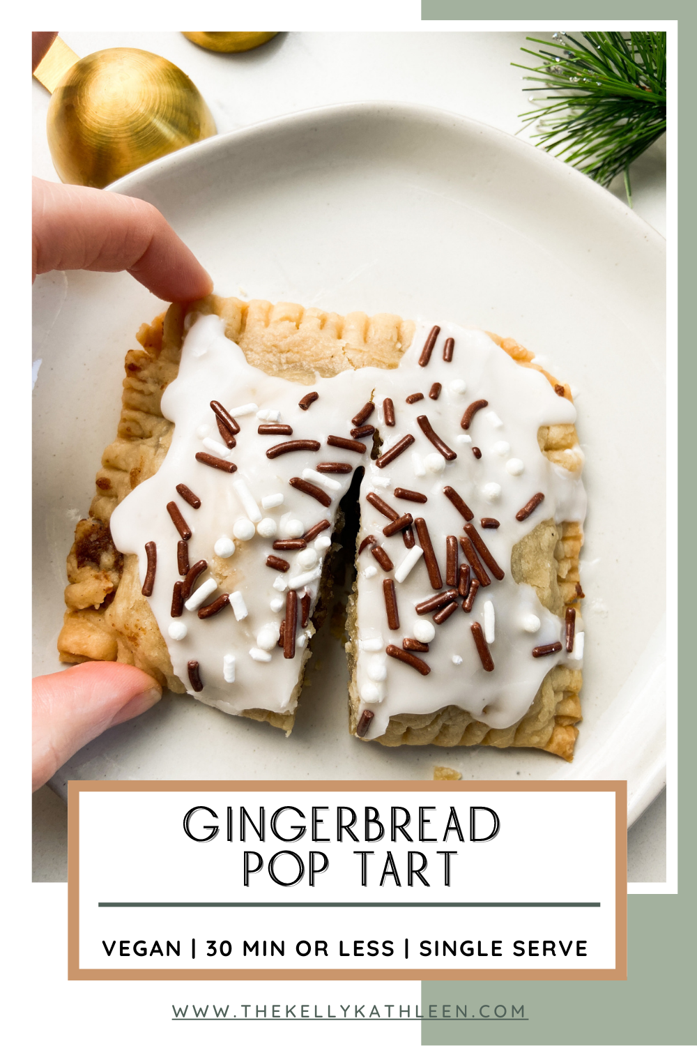 Gingerbread Pop Tart