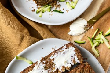 Zucchini Cinnamon Oat Bread