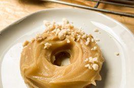 Vegan Coconut Maple Donuts